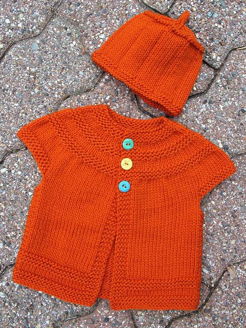 In Threes In Orange