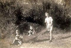 Australian Vintage Wheelbarrow