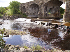 gbw - River Tyne at Alston Arches