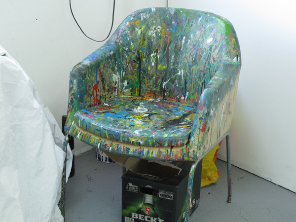 Artist's chair