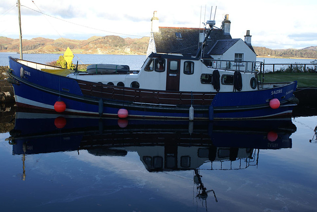 olb - Ex-Lifeboat - Saltire at Crinan