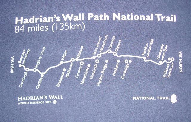 O&S - wall path