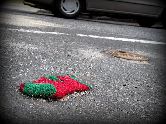 Lost Christmas Sock