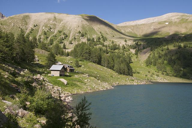 Lac d' Allos France