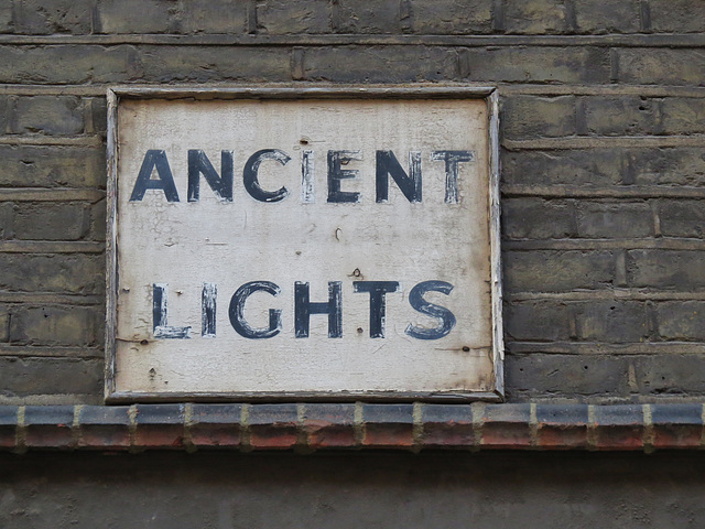 ancient lights, townshend school, rochester st., westminster