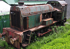Old locomotive....R.I.P. (Rust In Peace. 2 of 3).