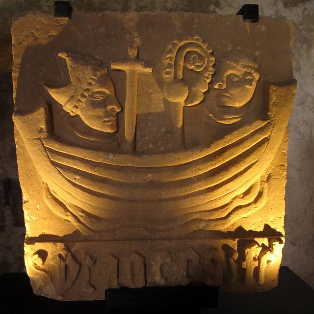 Le sceau médiéval de l'Abbaye de Beauport (Côtes d'Armor, France)