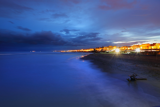 ostia in blu