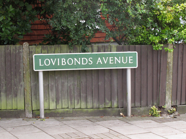 Lovibonds Avenue