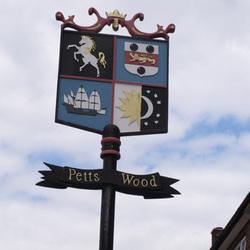 Petts Wood sign