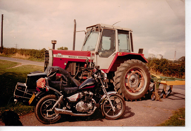 TiG - tractor and outfit