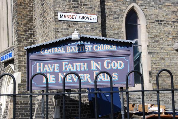 Have faith in God he never fails