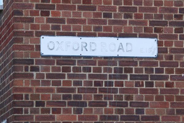 Oxford Rd E15