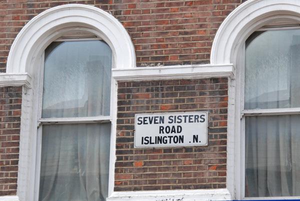 Seven Sisters Road Islington .N.