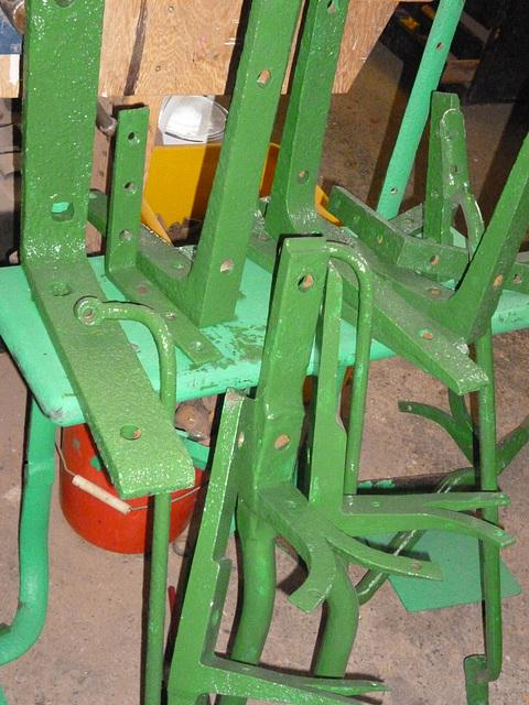 BM FC - green paint