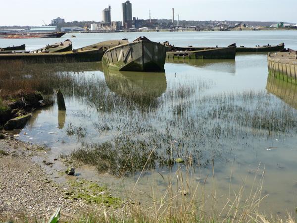 Concrete barges