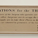Regulations for the Theatre 1822