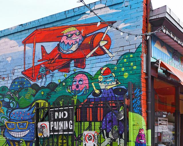Miss Cora's Mural, #1 – Kensington Avenue, Toronto, Ontario