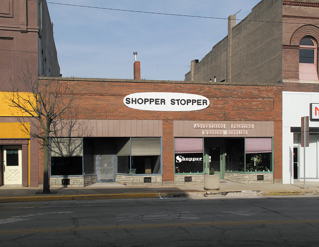 """""""Stopping shopping"""" downtown threat."""