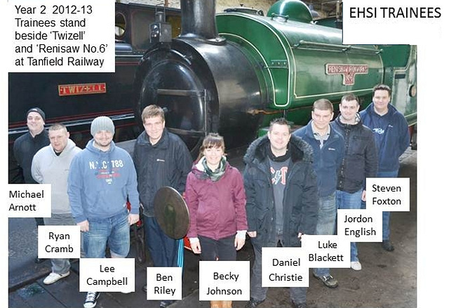 EHSI - 2012 trainees