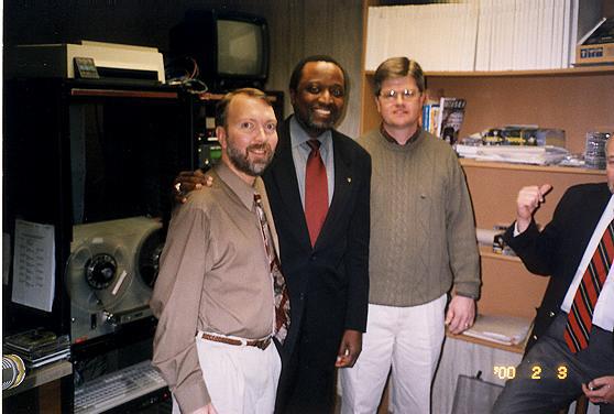 Ambassador Alan Keyes, WELP Radio 2000.BMP