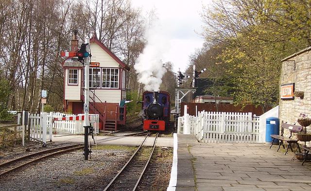 TiG - train at Alston