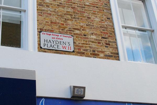 Hayden's Place W11