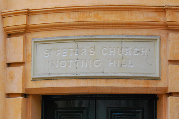 St Peter's Church sign