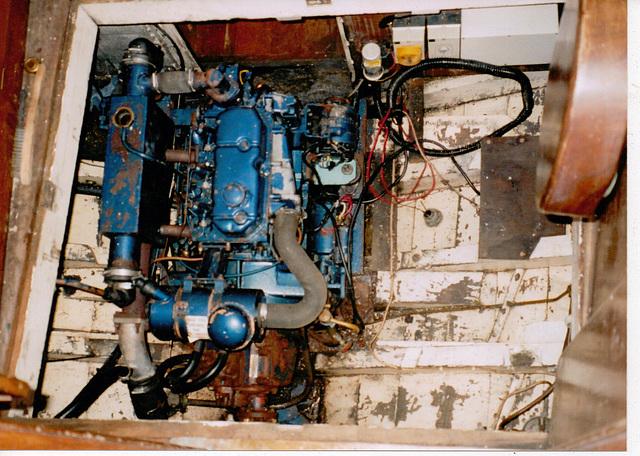 MF - engine as found 1