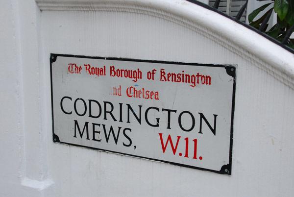 Cordington Mews W11