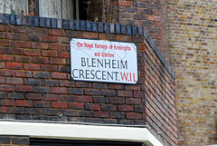 Blenheim Crescent W11