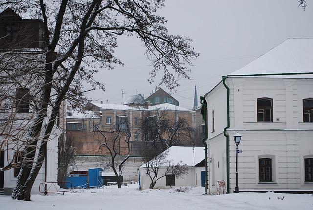 Kiew im Winter