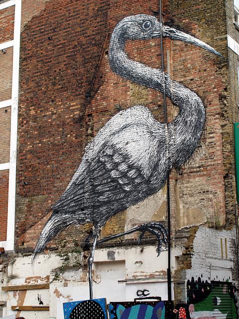 Crane or heron or something
