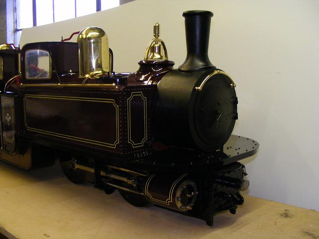 DC - smokebox detail