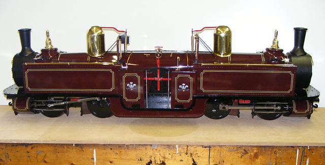 DC - Model repainted