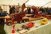 csg - excavator and model haulier
