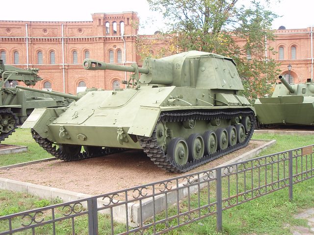 SU-76 76-mm Kanone