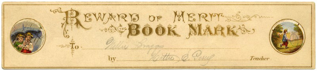Reward of Merit Bookmark