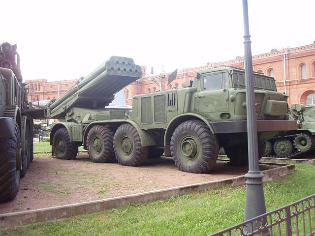 9K57 BM-27 Uragan (Hurrikan)