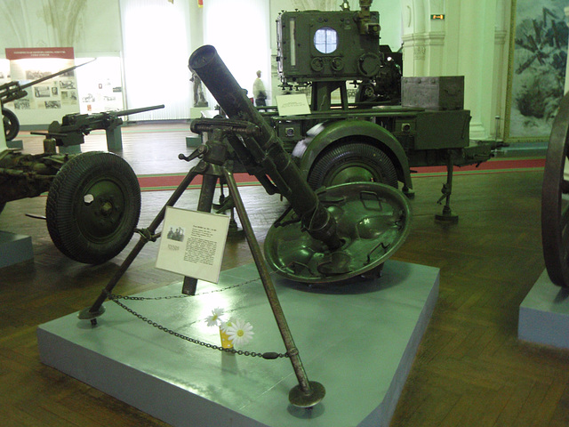 sGrW 42: ein 120-mm deutscher Granatwerfer