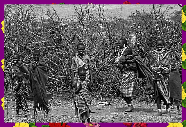 chez les Masaïs de Tanzanie