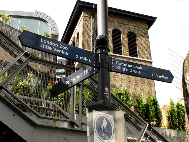 Arriving at Camden Town