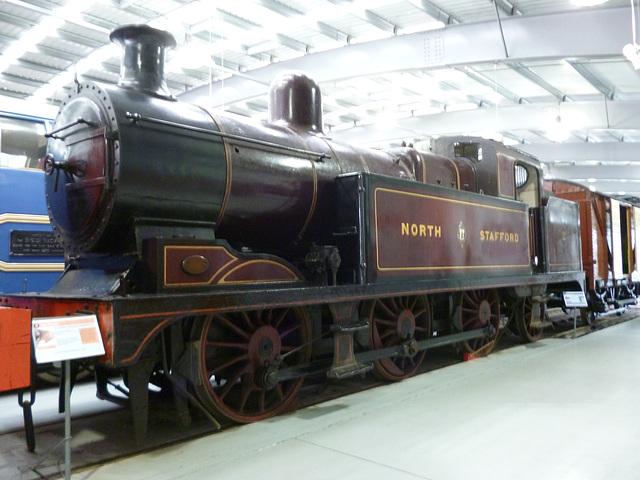 TiG - NRM - North Staffs loco