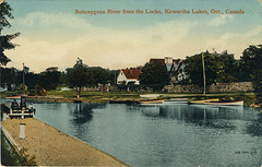 Bobcaygeon River from the Locks, Kawartha Lakes, Ont., Canada (106,486)