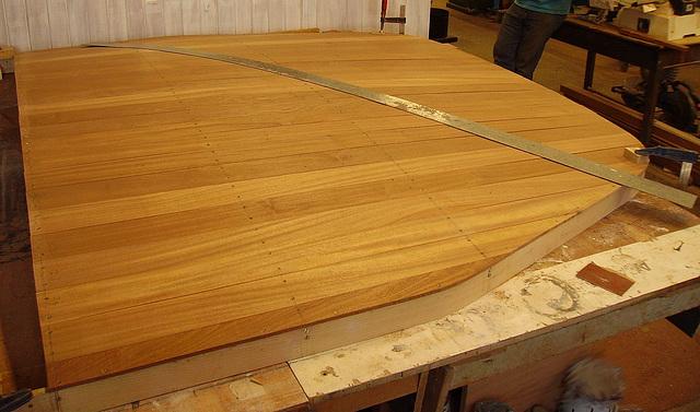 SSW - Roof dry build