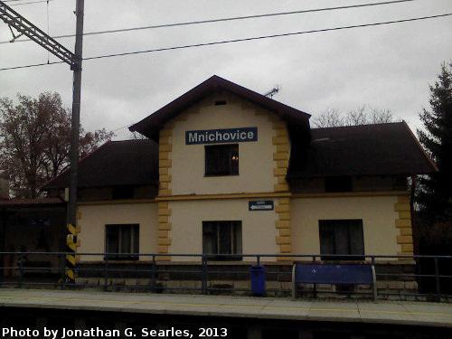Nadrazi Mnichovice, Mnichovice, Bohemia (CZ), 2013