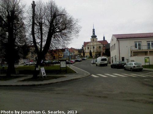 Village Square, Mnichovice, Bohemia (CZ), 2013