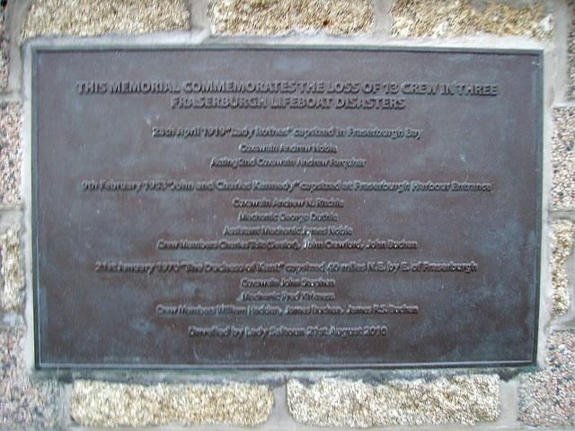 olb - Fraserburgh memorial text