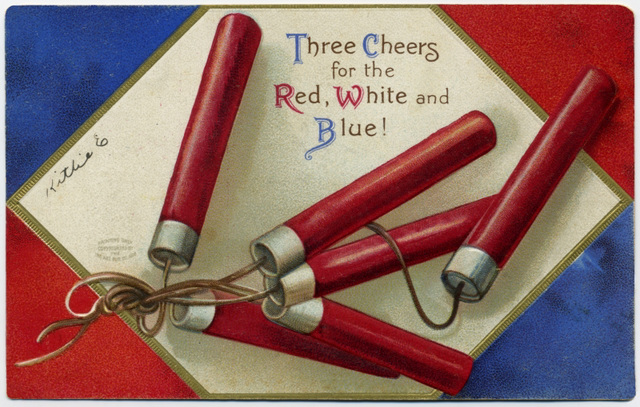 Three Cheers for the Red, White, and Blue!