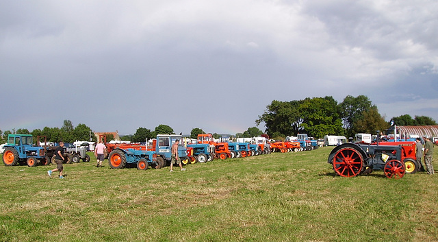 psr - tractor display